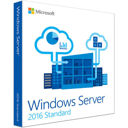 Laptop Microsoft Windows Server 2016 License Retail Box Lifetime Warranty