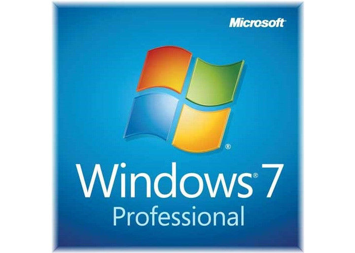 Retail Box Microsoft Windows 7 License Key COA License Sticker Lifetime Warranty