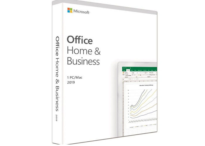 Home And Business Microsoft Office 2019 Key Code Medialess Retail For Windows And MAC 100% Genuine Key