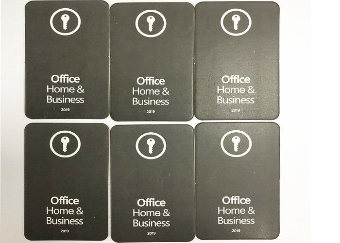 Genuine Microsoft Office Key Code Home And Business 2019 Key Card Multi Languague