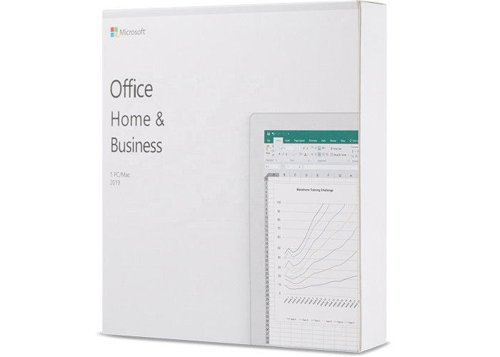 HB Software Microsoft Office 2019 Key Code Home And Business Retail For Windows MAC NO DVD